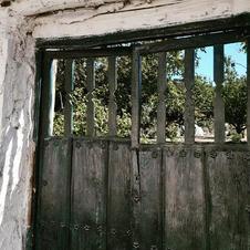 gate into garden alpujarra