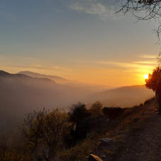 sunset    alpujarra