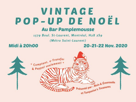 A Vintage Pop-Up Christmas sale is coming to Montreal