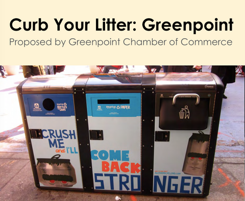 Curb Your Litter: Greenpoint Campaign