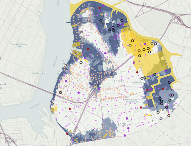 NAG Greenpoint-Williamsburg ToxiCity Map