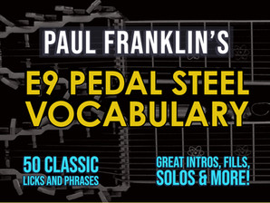 E9 Pedal Steel Vocabulary