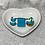 Thumbnail: Barrette PM turquoise