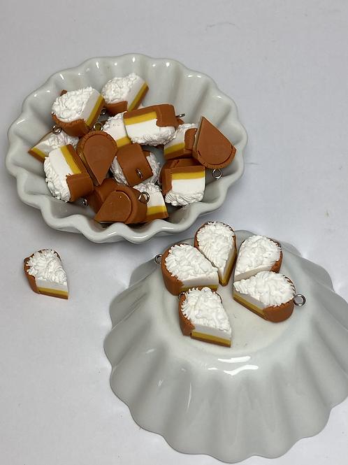 Breloque  tarte au citron meringuée