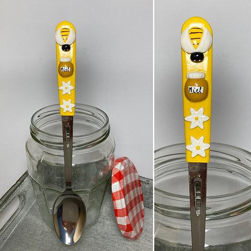 Cuillère à  confiture  miel