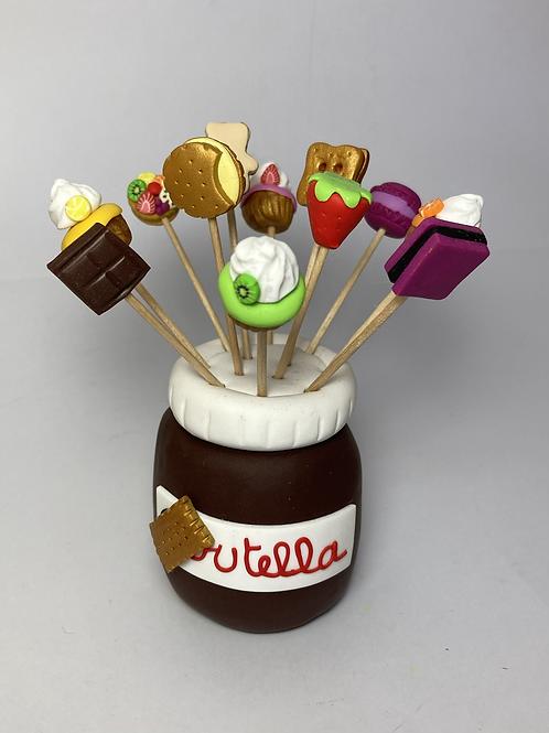 Présentoir  Pot de chocolat
