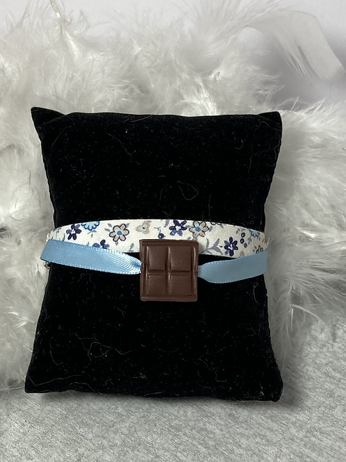 Bracelet  carré de chocolat