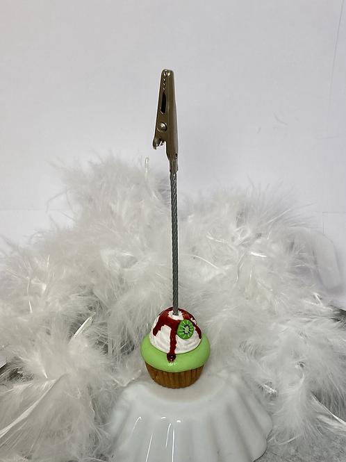 Support photo Cupcake vert