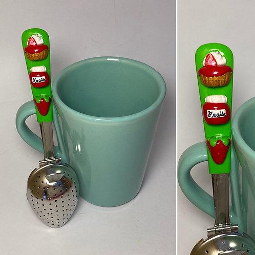 Cuillère à thé verte