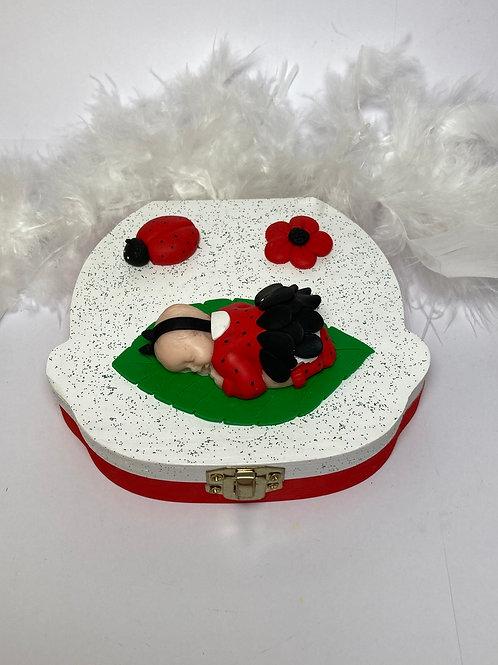 Boîte à dent «ma petite coccinelle»