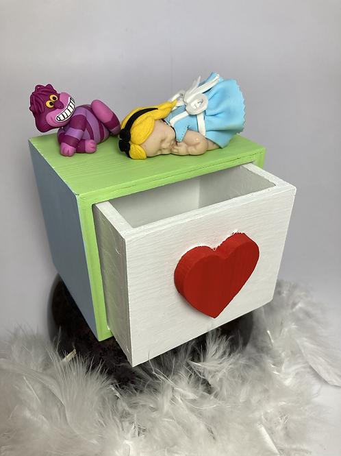 Boîte à bijoux «Alice»
