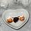 Thumbnail: Barrette  PM chocolat - orange