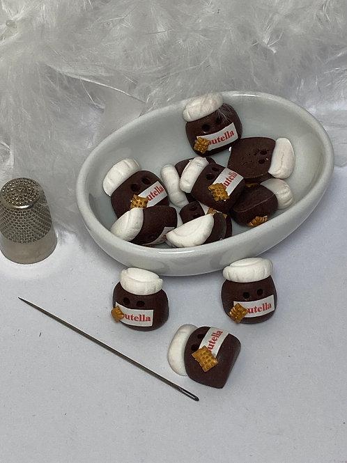 Bouton  Pot de chocolat