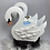 Thumbnail: Tirelire  Cygne blanc