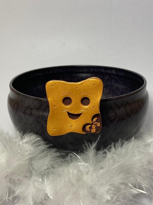 Magnet  biscuit sourire chocolat