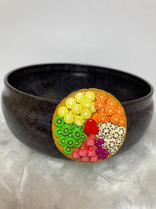 Magnet tarte aux fruits