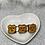 Thumbnail: Barrette PM biscuit sourire chocolat