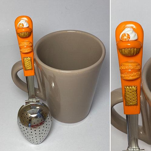 Cuillère à thé orange
