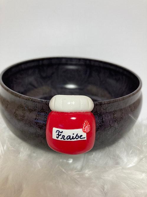 Magnet  pot de fraise