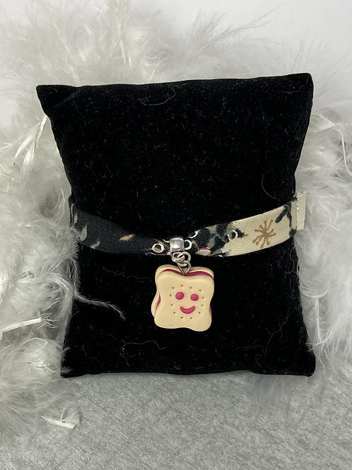 Bracelet  Choco souriant fraise