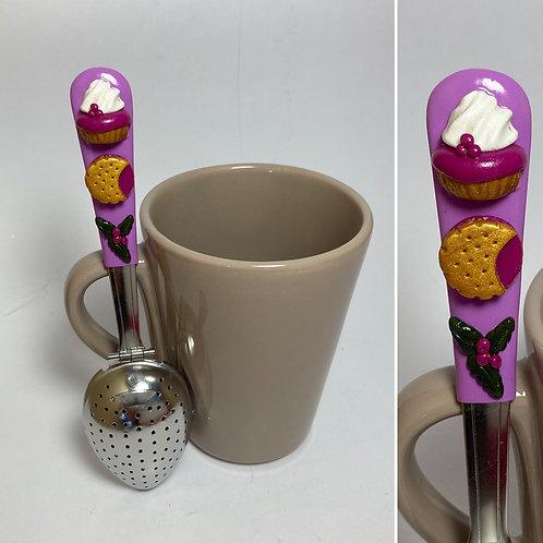 Cuillère à thé violet clair