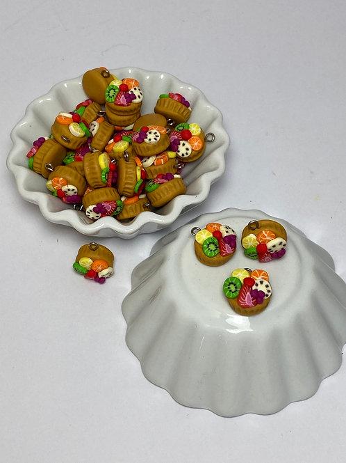Breloque  Tartelette aux fruits»