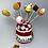 Thumbnail: Présentoir  Pot de confiture  de fraise