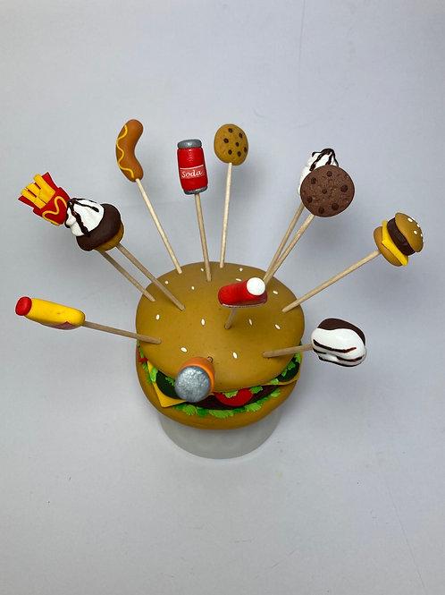 Présentoir  Hamburger