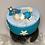 Thumbnail: Boîte à musique turquoise bébé - chat