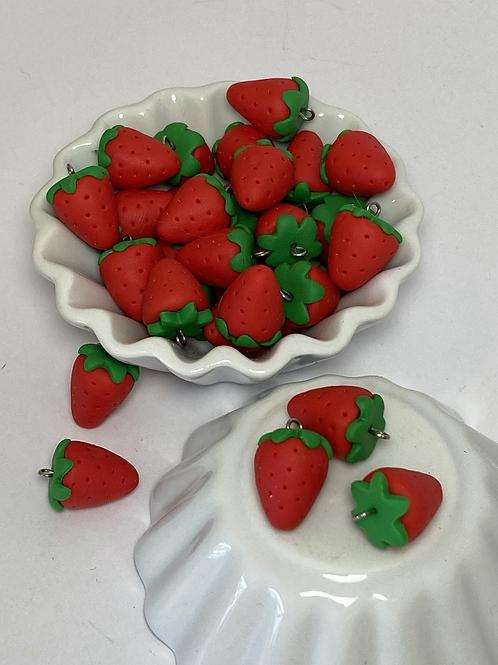 Breloque  fraise