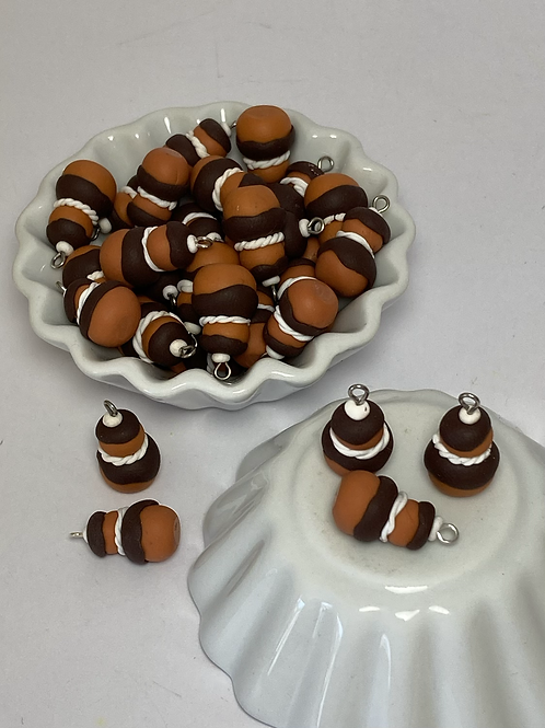 Breloque  religieuse  chocolat