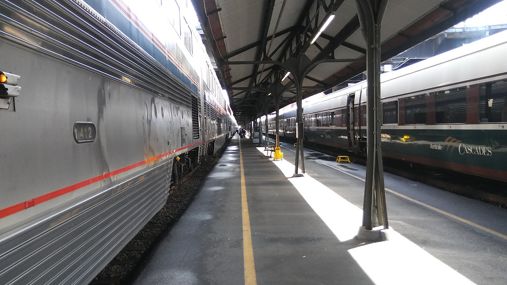 Figure 1: Union Station in Portland, OR, stop-over en route to Albany, OR.