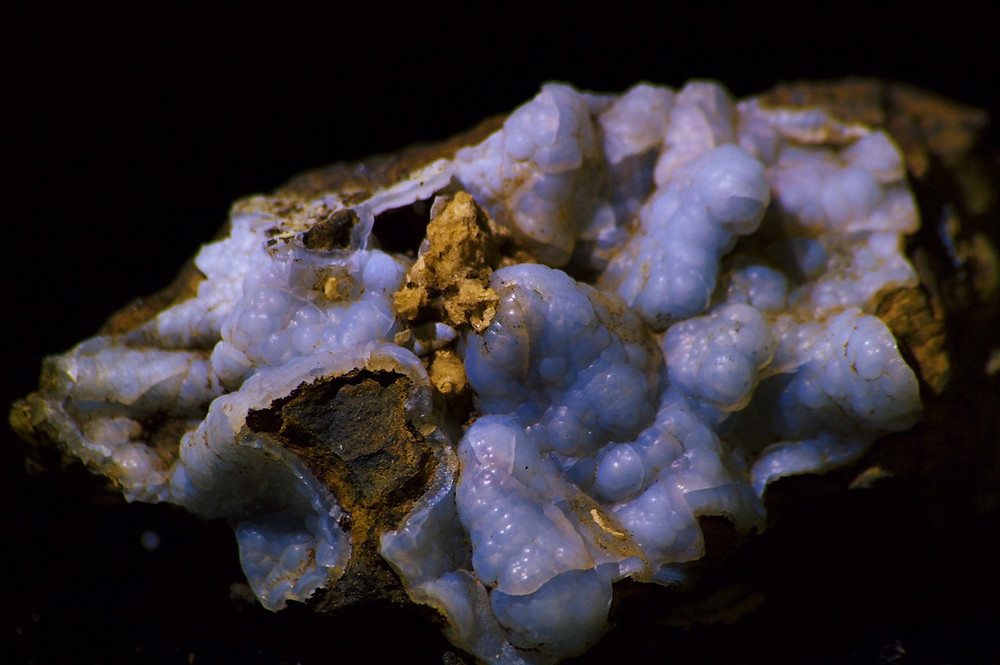 Figure 4:  Botryoidal Chalcedony. Photo credit to Zach Capel.