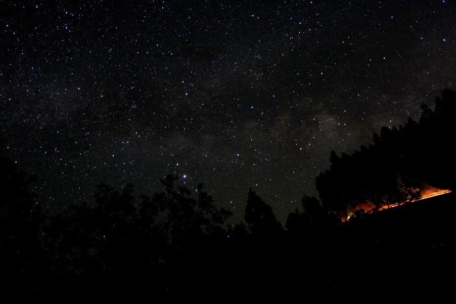 Figure 4: The northern night sky; Arin Underwood.