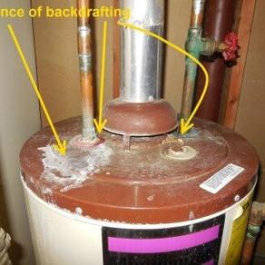 Water Heater Back Draft