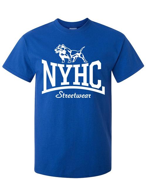 NYHC Streetwear - Pitbull t shirt (Blue)