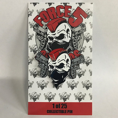 Force 5 Records Series 1 Pin