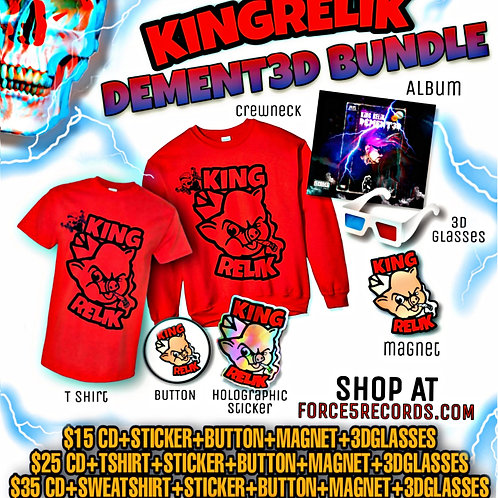 "King Relik - ""DEMENT3D Bundle #2"