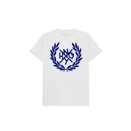 NYHC T-Shirt (White shirt/Blue logo)
