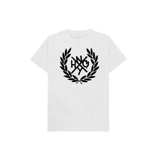 NYHC T-Shirt (White shirt/Black logo)