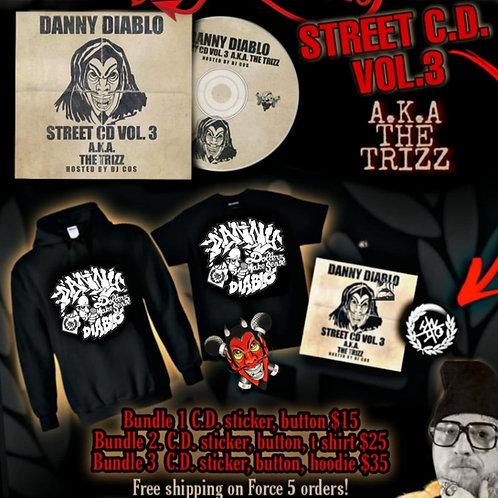 Danny Diablo - Street C.D. Volume 3 Bundle #1