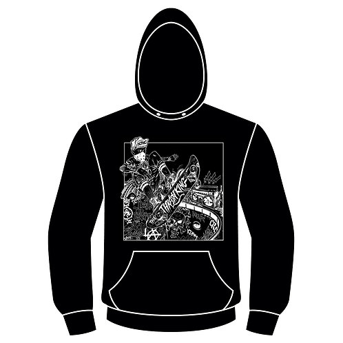 MOD Classictk-The Thrash King Hoodie (Black)