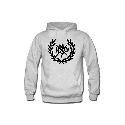 NYHC Logo-Light Grey Pullover Hoodie