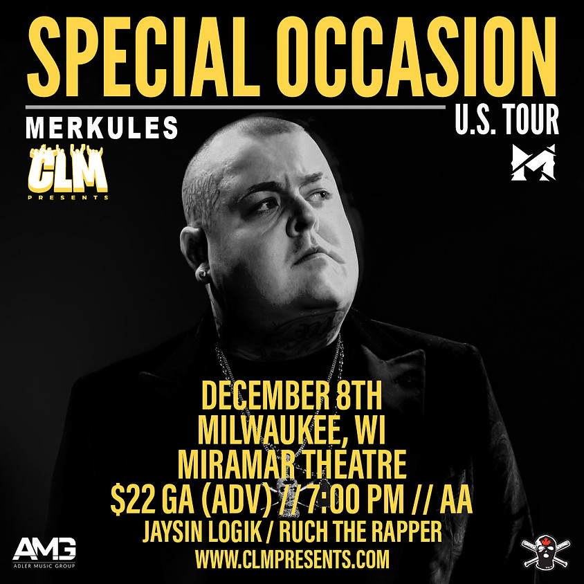 Merkules (with special guest Jaysin Logik)