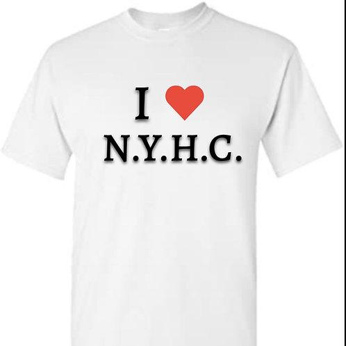 "I ""Love"" NYHC - T Shirt (WHITE)"