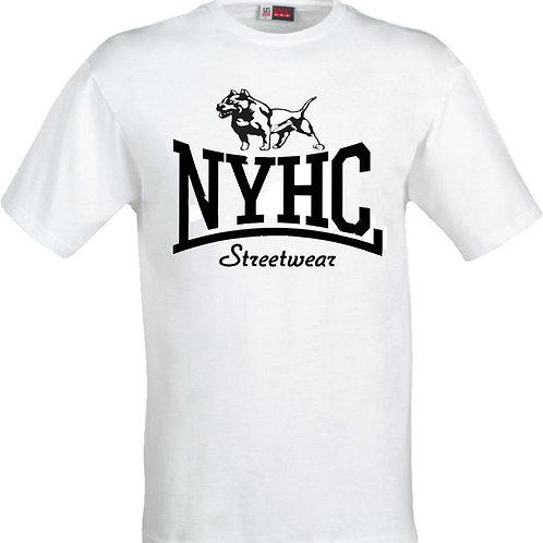 NYHC Streetwear - Pitbull t shirt (WHITE)