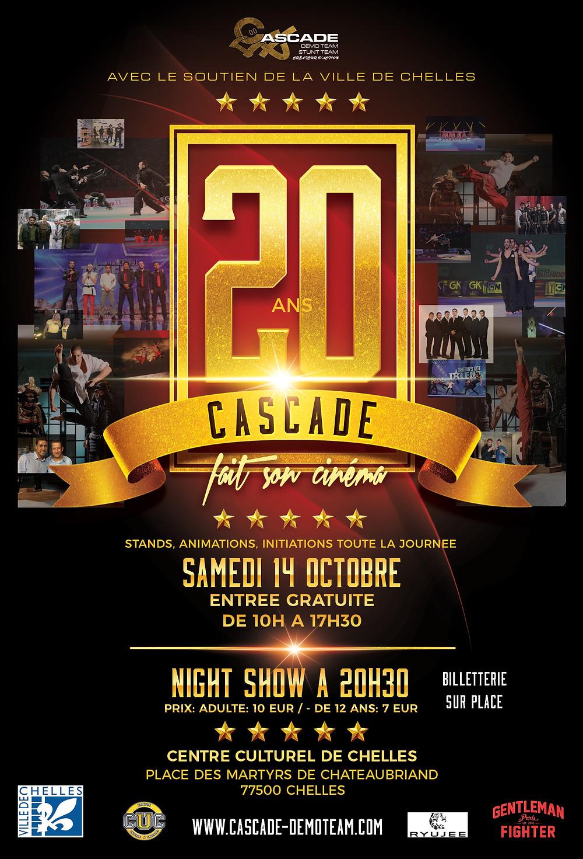 CASCADE 20 ANS