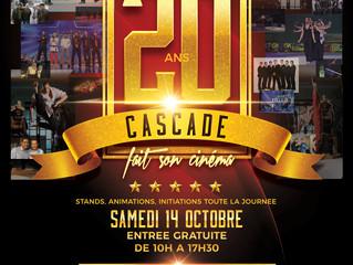 CASCADE fête ses 20 ans !!!