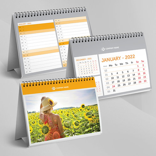 Calendar Triptic cu planner - 45