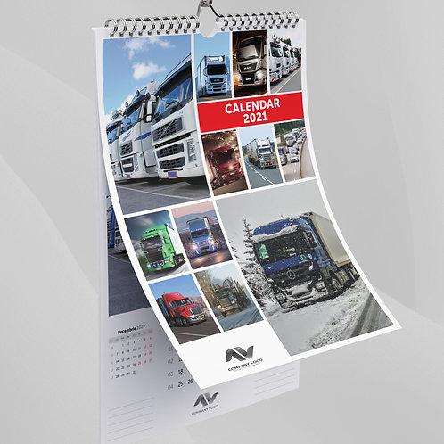 Calendar Camioane - 76